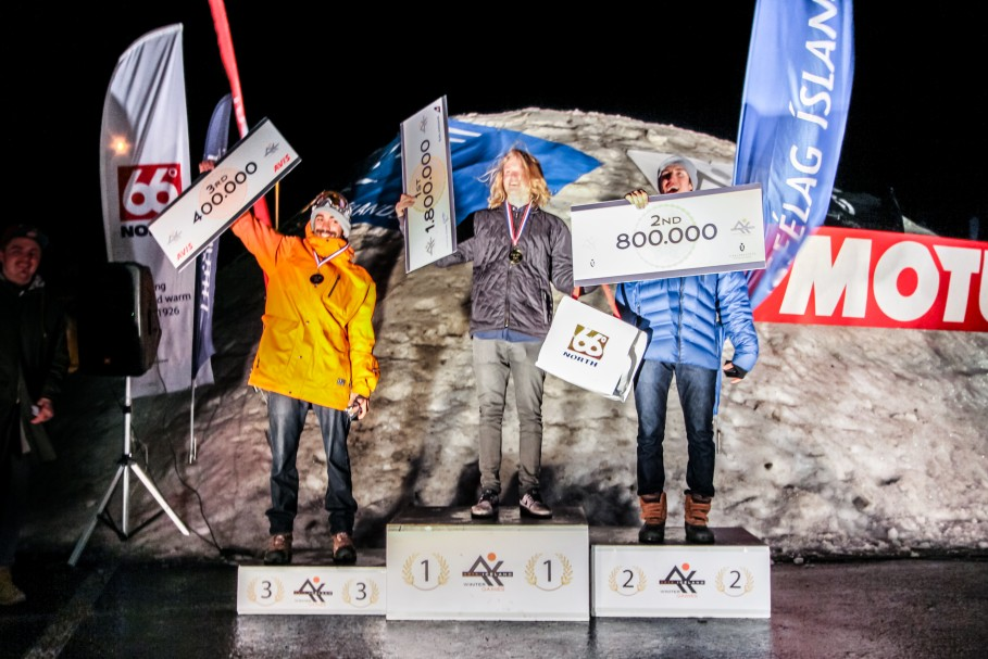 IWG - Results from the Freeski and Snowboard compitition